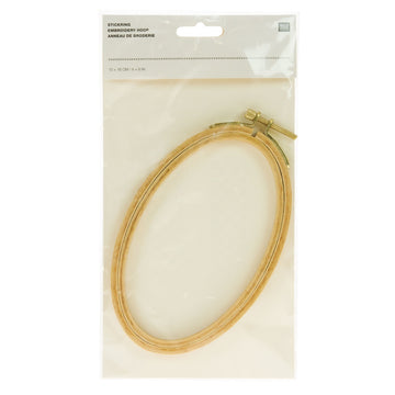 "Rico Embroidery Hoop Oval 4"" x 6"""