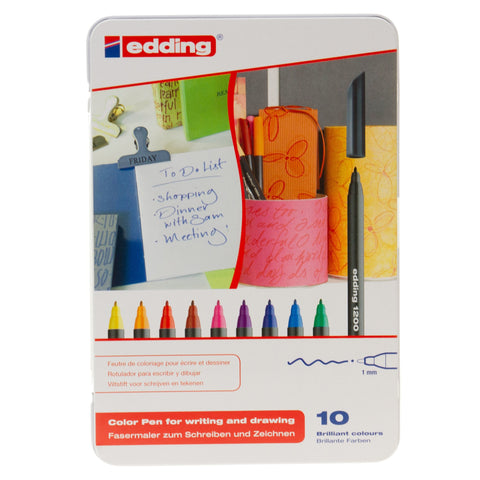 Edding Colourpen Set 10pk