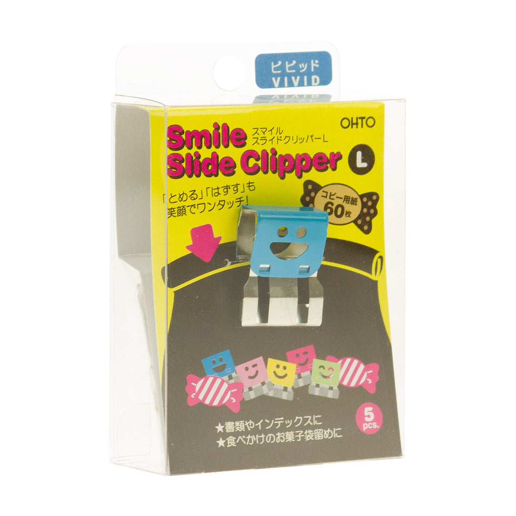 Smile Slide Clipper Large Vivid