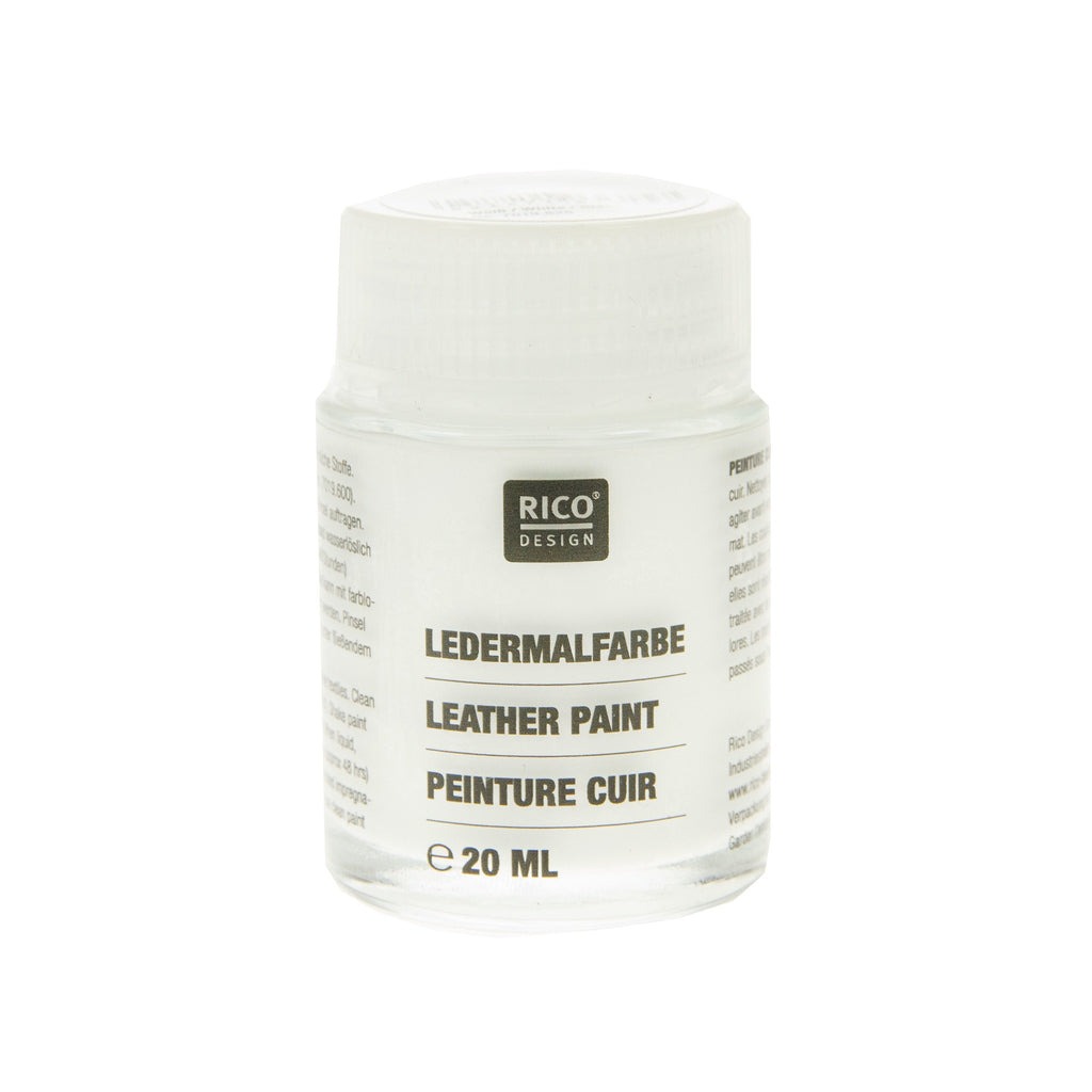 Leather Paint White 20ml