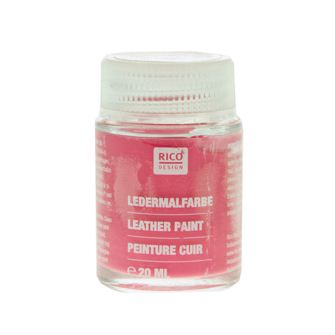 Leather Paint Pink 20ml
