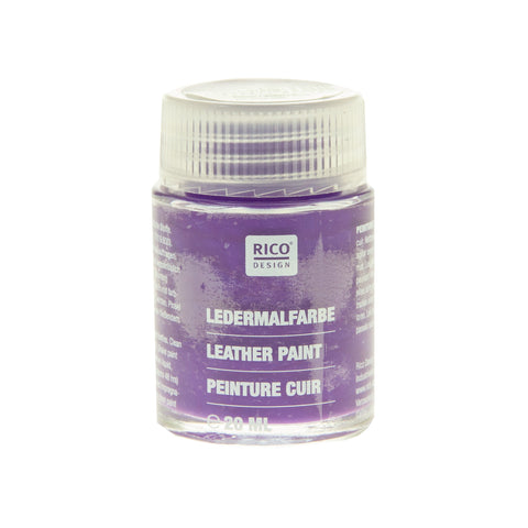Leather Paint Violet 20ml