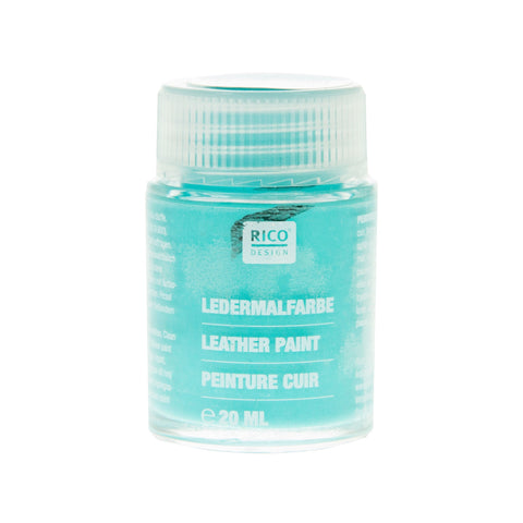 Leather Paint Turquoise 20ml