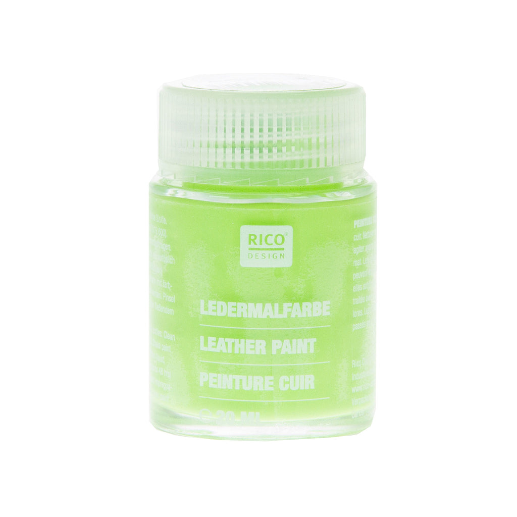 Leather Paint Sap Green 20ml