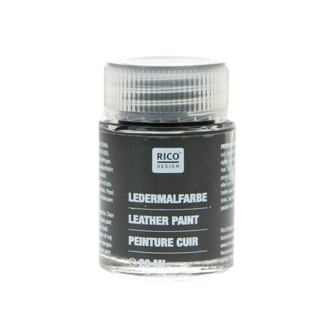 Leather Paint Black 20ml