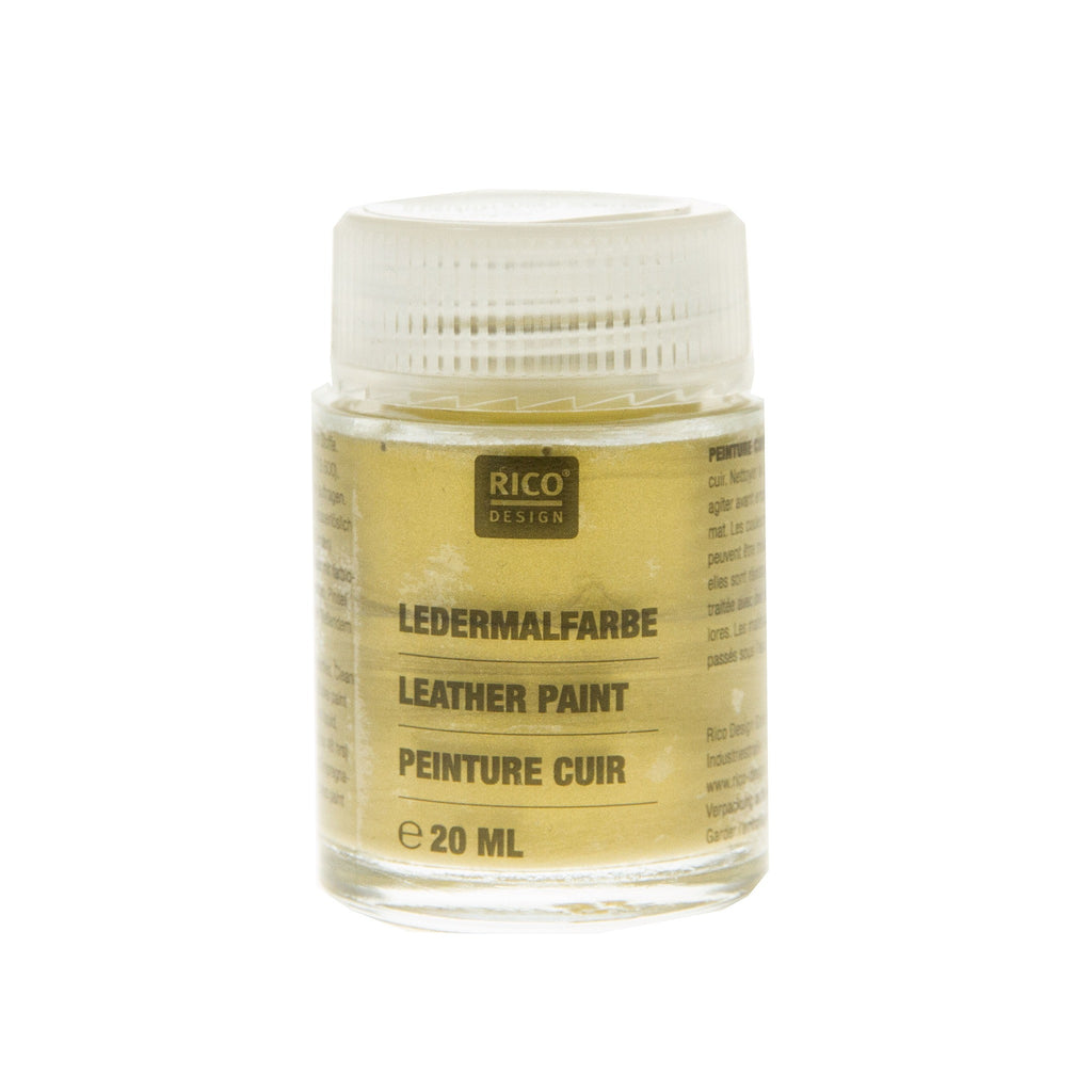Leather Paint Gold 20ml