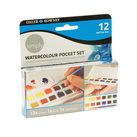 DR Simply Watercolour Pocket Set
