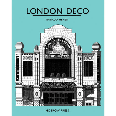 London Deco Leporello