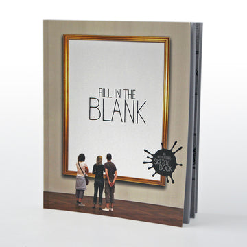 Fill The Blank Sketchbook