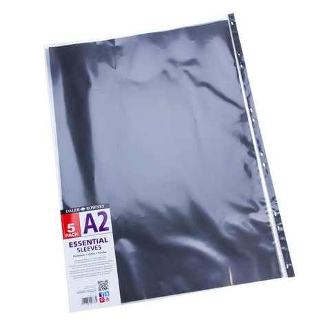 DR Essential Sleeves A2 5pk