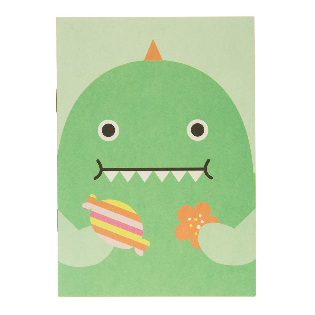 Green Dino Pocket Notebook