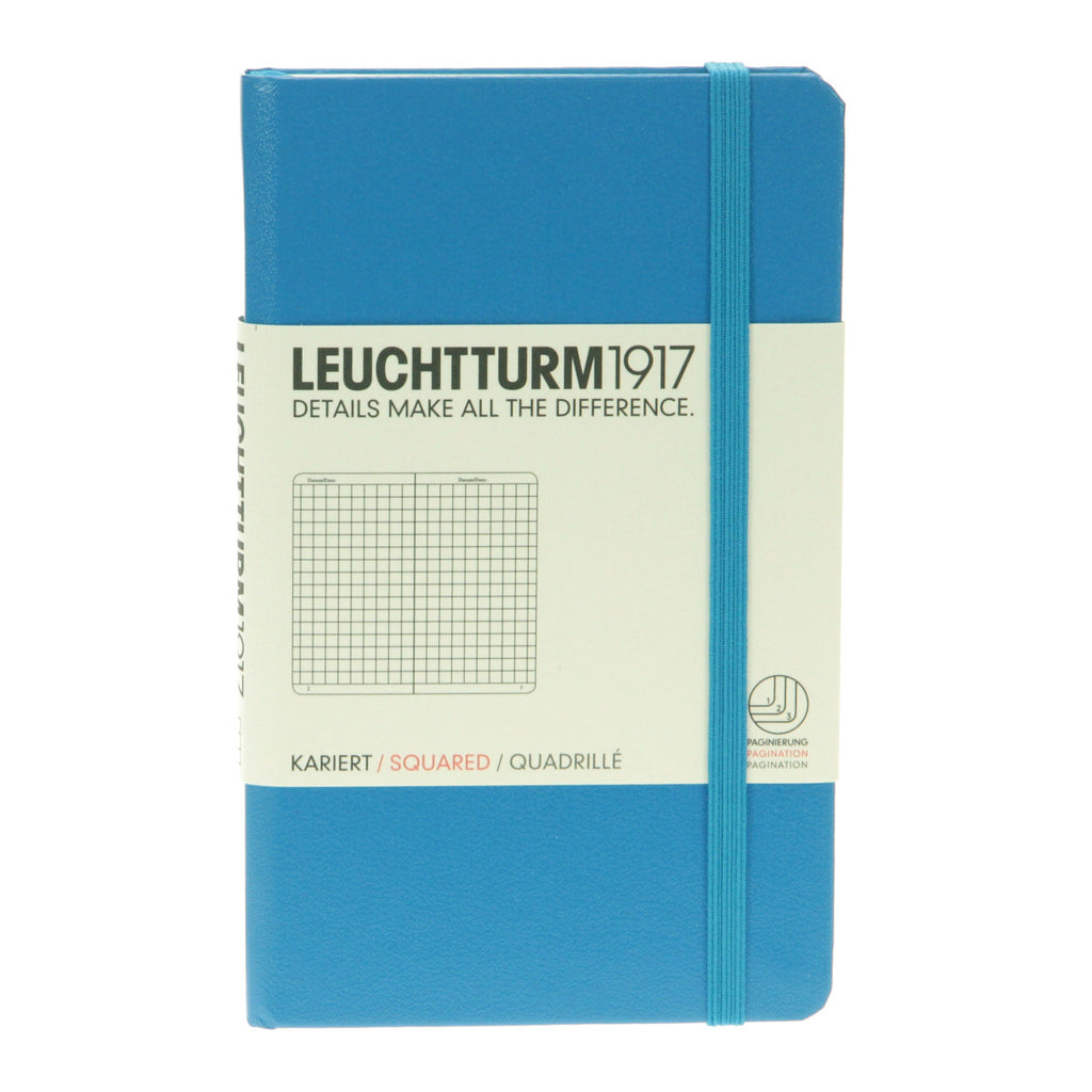 1917 Notebook Pocket Squared Azure