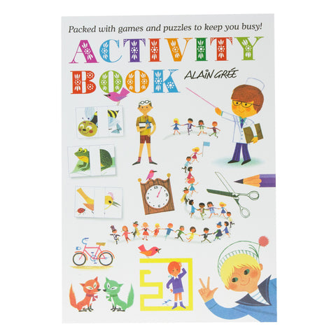 Activity Book Alain Gree