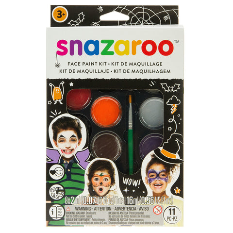 Snazaroo Halloween Face Painting Kit