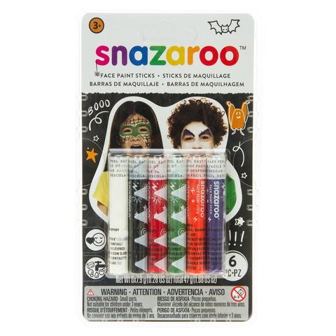 Snazaroo Halloween Face Painting Sticks