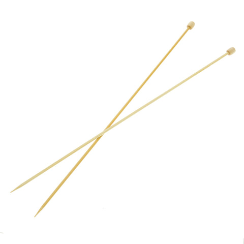 Clover Takumi Bamboo Knitting Needles - 3.25mm - 2pk