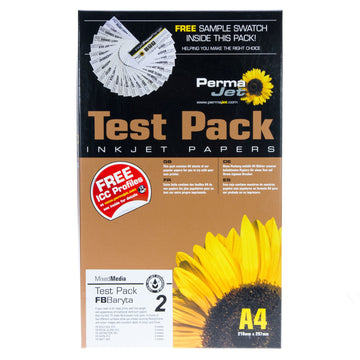 A4 PermaJet FB Baryta Paper Test Pack 2 - 15 sheets