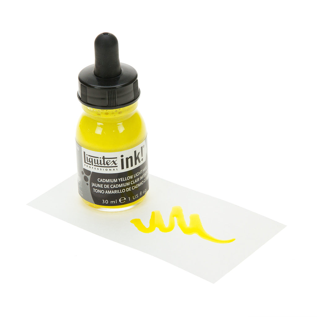 Liquitex Ink Cadmium Yellow Light Hue