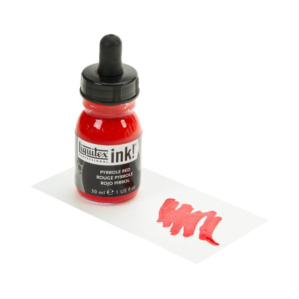 Liquitex Ink Pyrrole Red