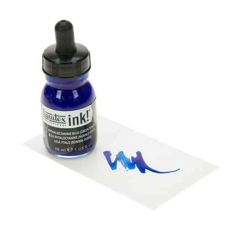 Liquitex Ink Phthalocyanine Blue Green Shade