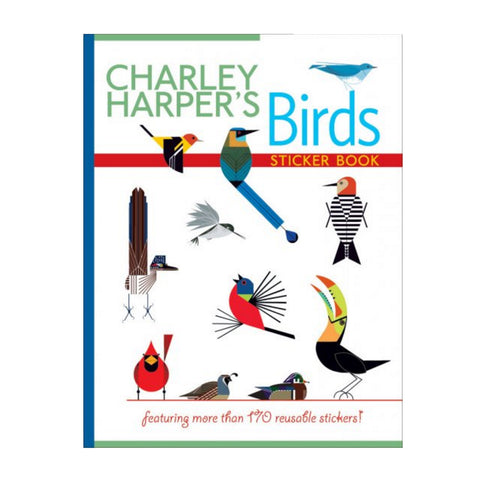 Charley Harper Birds Sticker Book