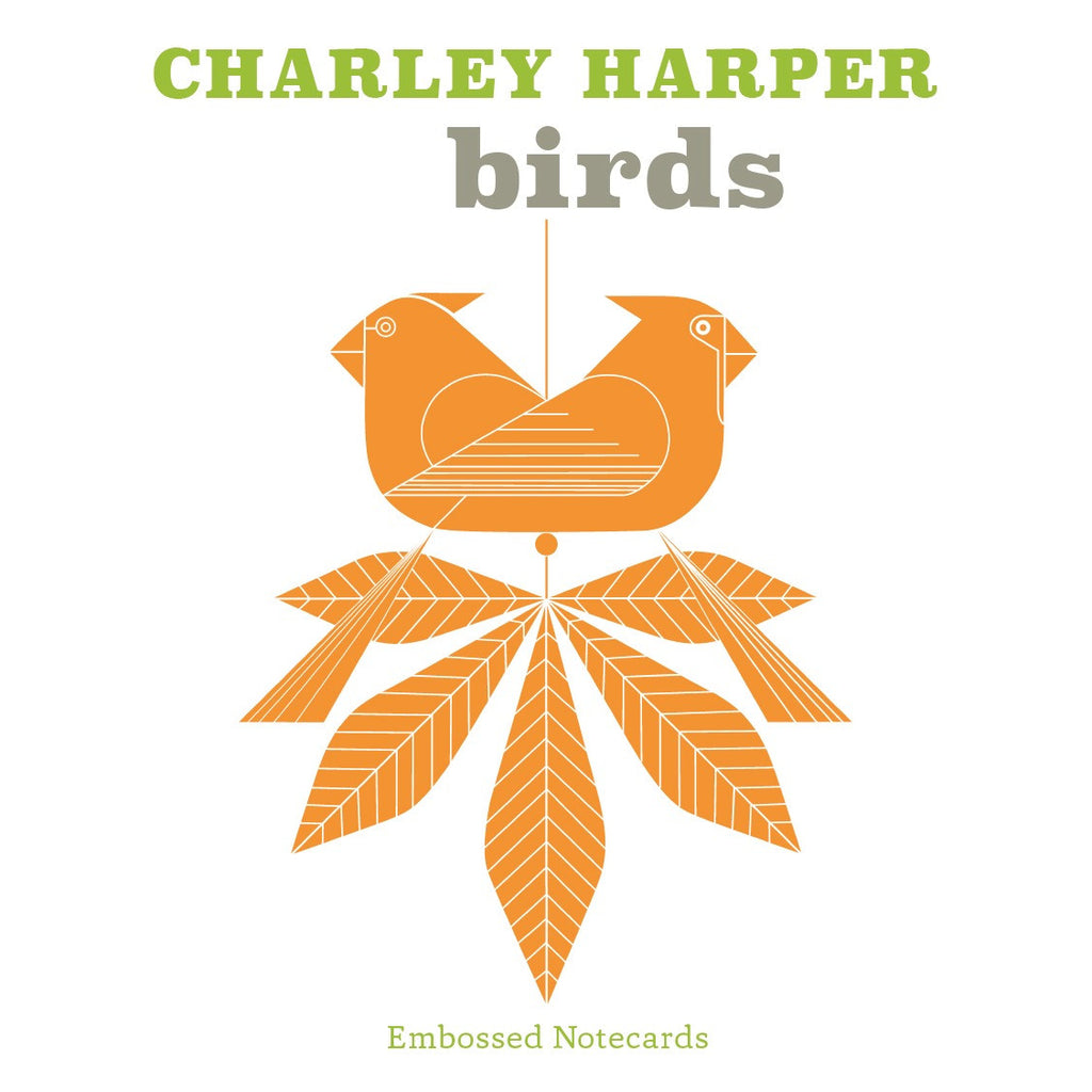 Charley Harper Birds Notecards