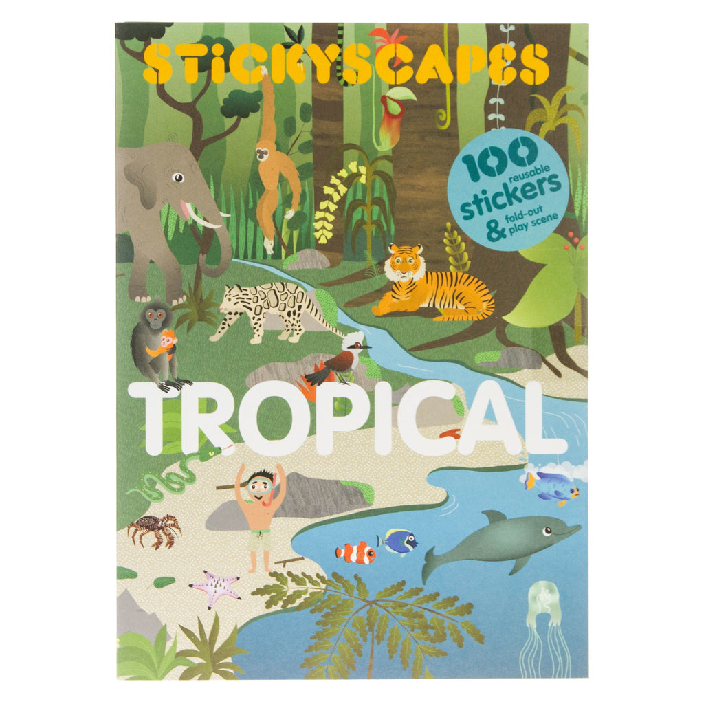 Stickyscapes Tropical
