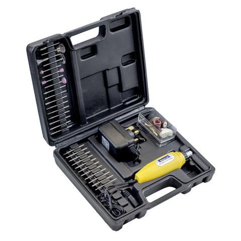 12V Rotary Tool Set With 75 Accessories