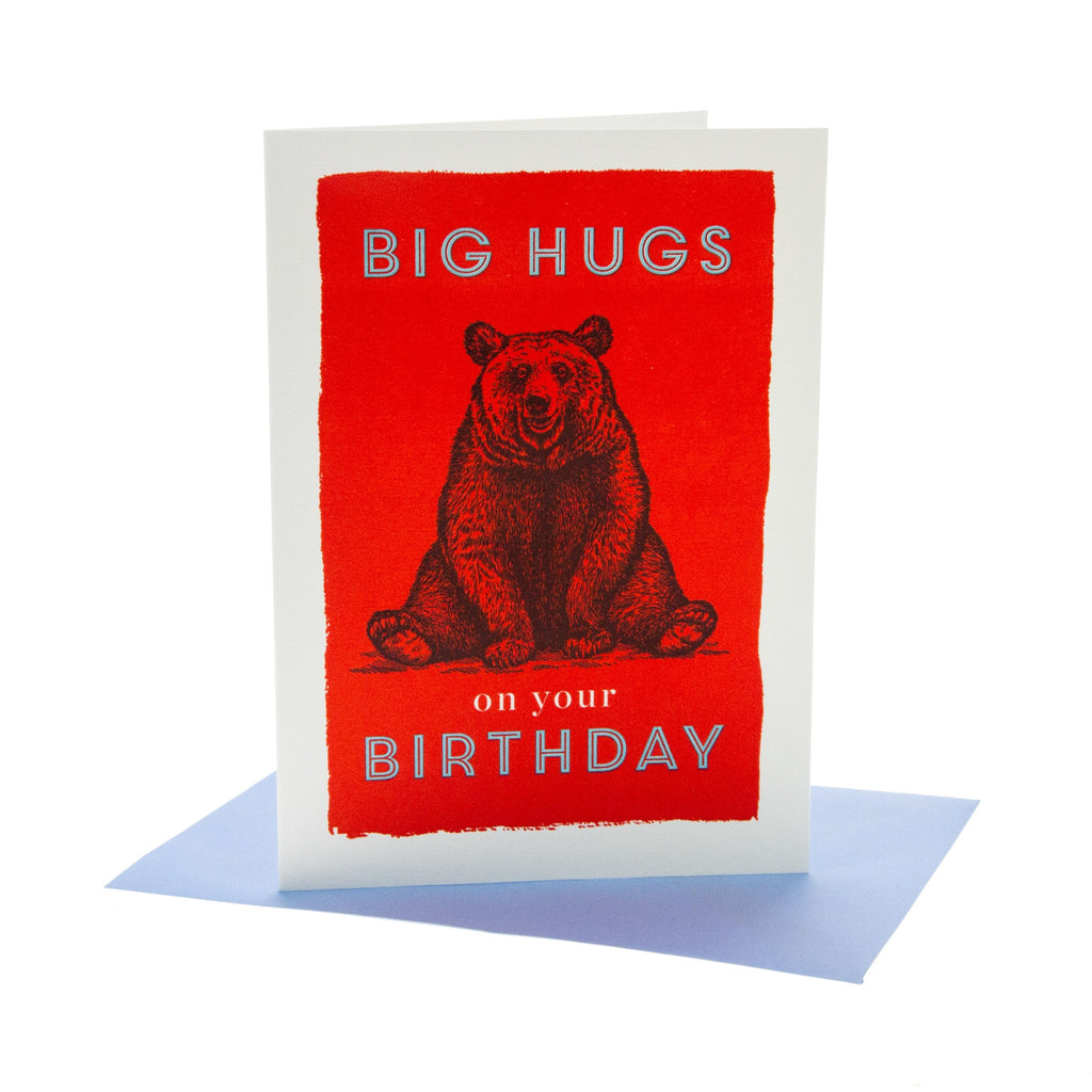 Big Hugs Birthday Card