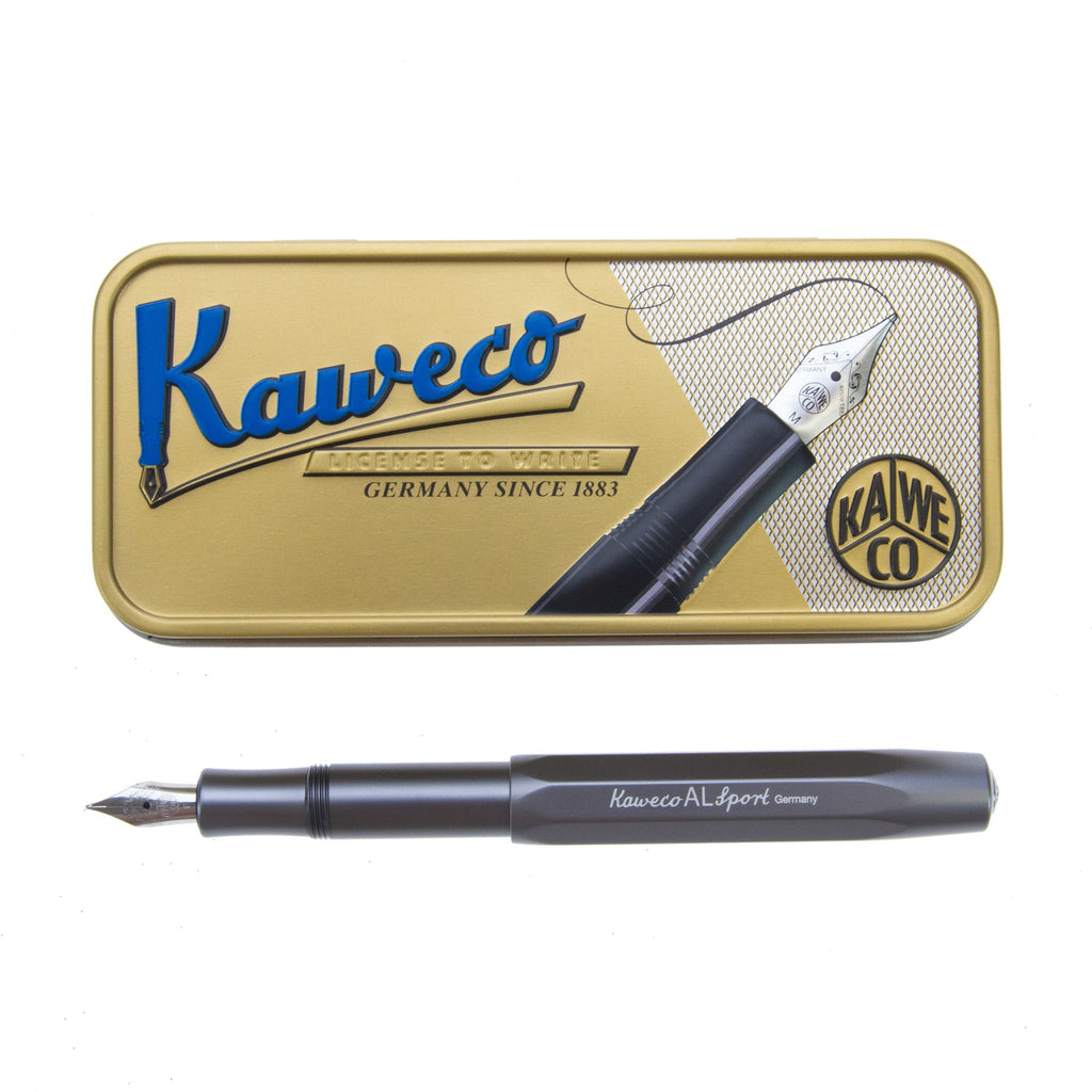 Kaweco Anthracite Fountain Pen F Sport