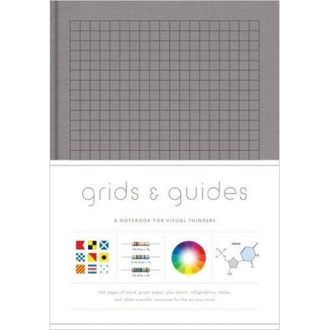 Grids And Guides Grey Notebook