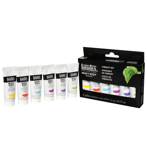 Liquitex Heavy Body Vibrant Set 6x22ml