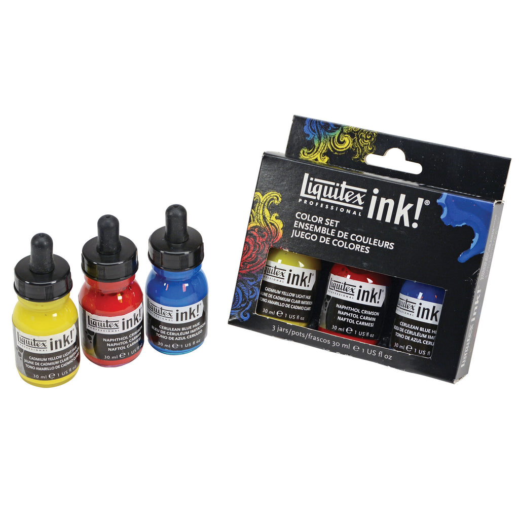 Liquitex Ink Color Set 3x30ml