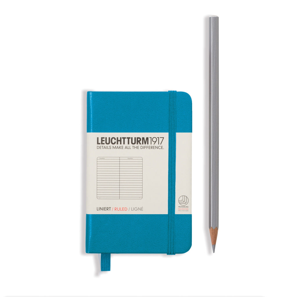 Leuchtturm 1917 Notebook Mini Lined Azure