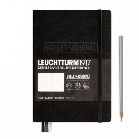 1917 Bullet Journal Medium Black