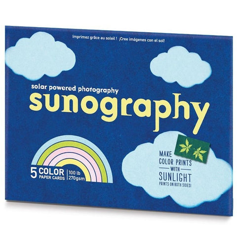 Sunography - 5 Colour Paper Cards