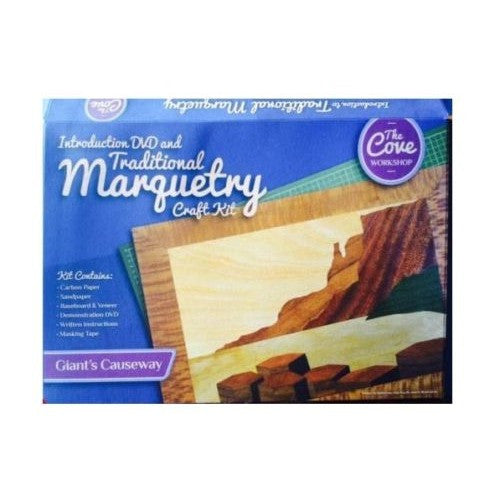 Traditional Marquetry Craft Kit - Giant's Causeway