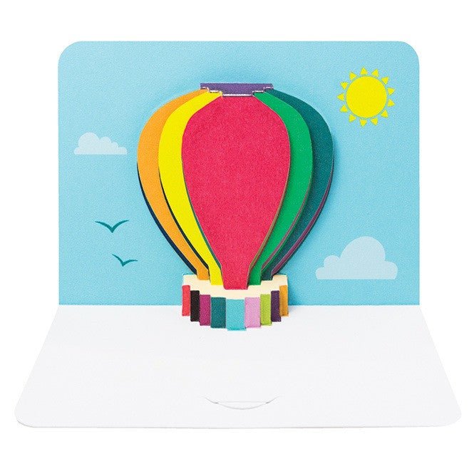 Form Folding Cards - Hot Air Balloon