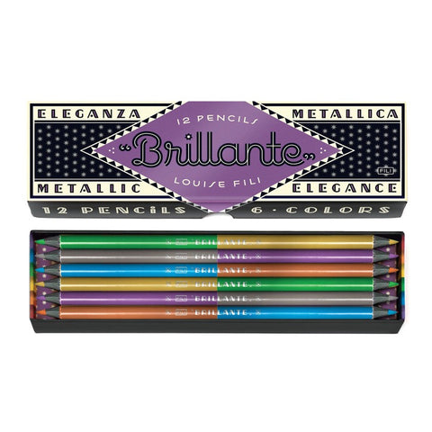 Brillante Pencils 12 Pk