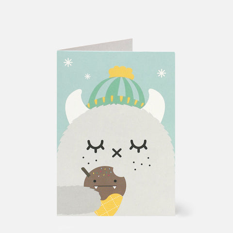 Greeting Card Ricepuffy