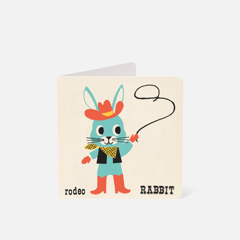 A-Z Card Rodeo Rabbit