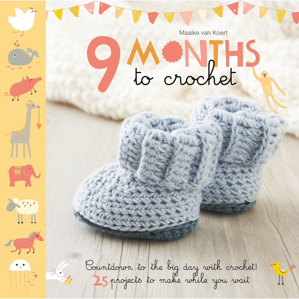 9 Months To Crochet Book
