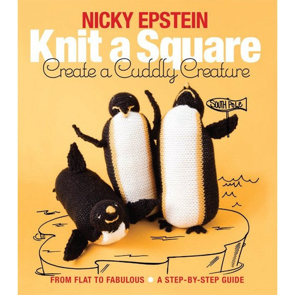 Knit A Square Cuddly Creature book