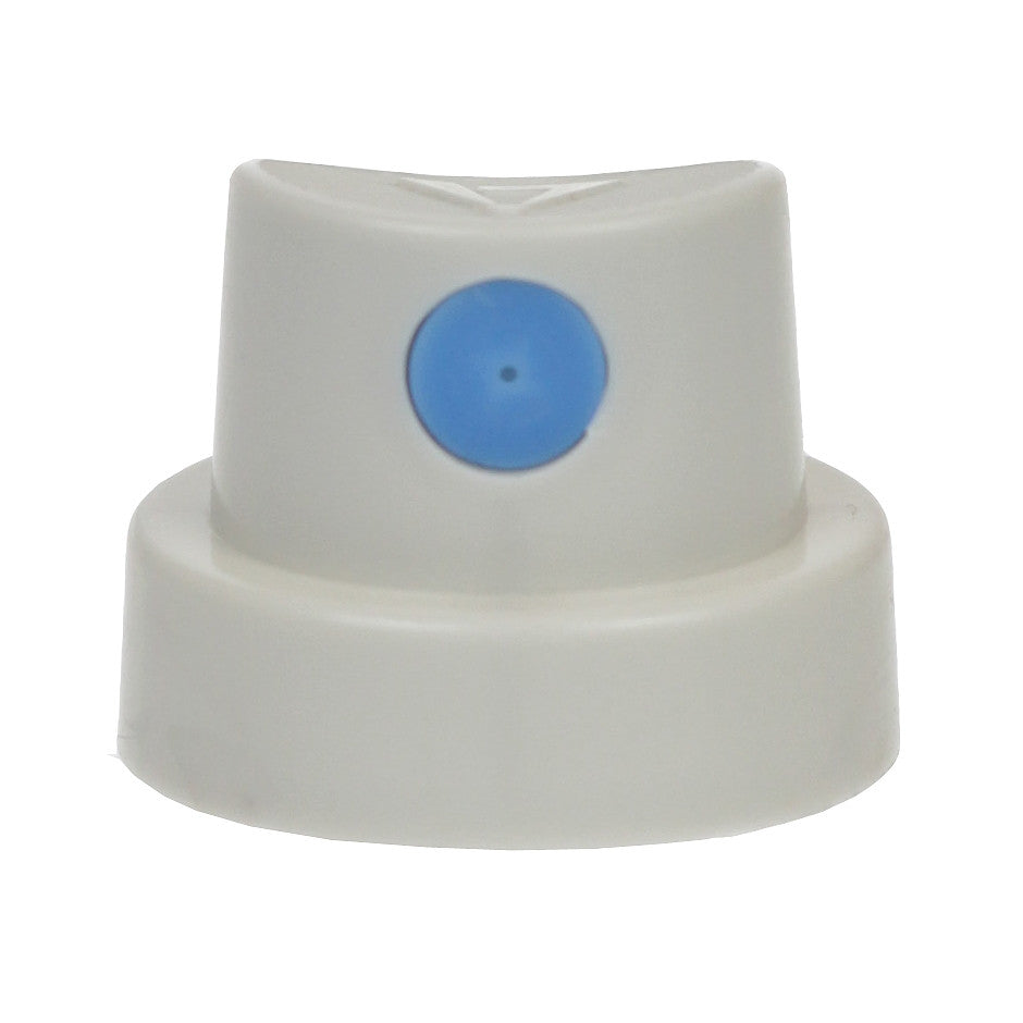 Cap - Soft - Grey with Blue Dot