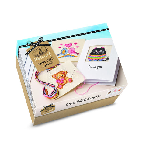 Start A Craft Cross Stitch Card Kit