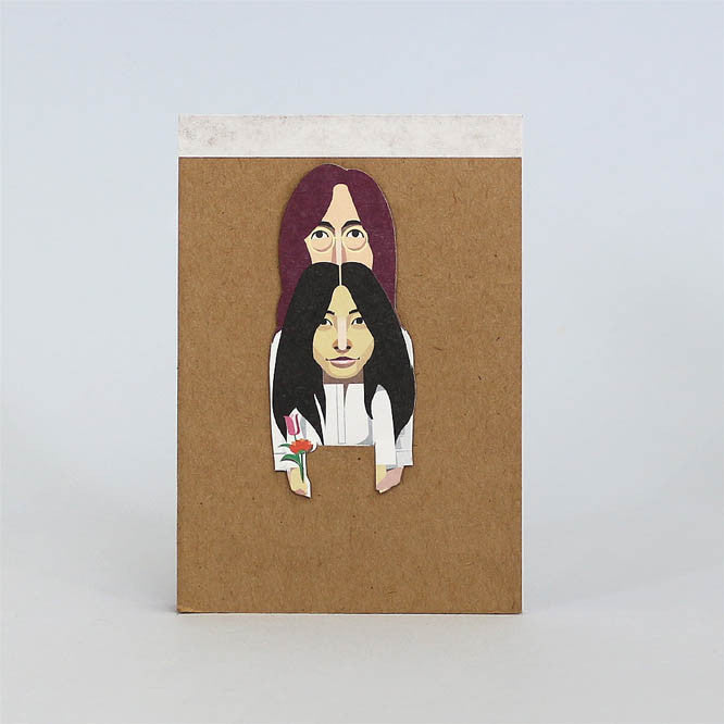 John & Yoko Artist Pocket Sketchbook