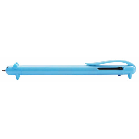 Paper Poetry Multicolour Ballpoint Pen, Dog Blue