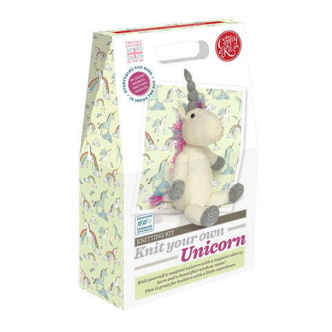 Crafty Kit Co - Knit your own Unicorn