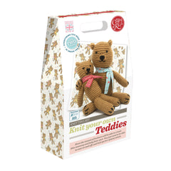 Crafty Kit Co - Knit your own Teddies