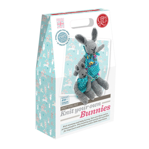 Crafty Kit Co - Knit your own Bunnies